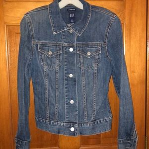 GAP Stretch Jean Jacket Size Small